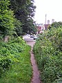 Footpath into Rosehill Road - geograph.org.uk - 887446.jpg