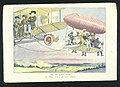 """For the sunny South. An airship with a """"Jim Crow"""" trailer LCCN2002720354.jpg"""