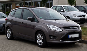 Ford C-Max 1.6 TDCi ECOnetic Trend (II) – Frontansicht, 23. September 2012, Düsseldorf.jpg