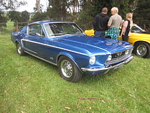La Ford Mustang Fastback MY 1968