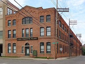 Ford Piquette Avenue Plant - Image: Ford Piquette Avenue Plant Front Exterior