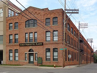 Ford Piquette Avenue Plant former car factory and National Historic Landmark in Detroit, Michigan.