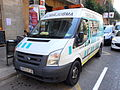 Ford Transit Ambulancia Domingo licence 9673 FZR.JPG