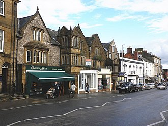 Margaret Bondfield - A modern (2009) photograph of the main street in Chard, Somerset, Bondfield's home town