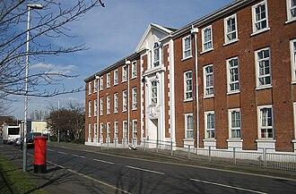 Hayes, Hillingdon - Image: Former EMI headquarters, Hayes geograph.org.uk 1497197