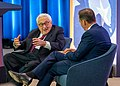 Former Secretary of State Dr. Kissinger Participants in a Discussion with Biographer Dr. Ferguson (48407949626).jpg