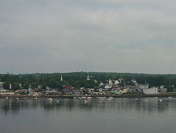 Bucksport from Fort Knox, 2004