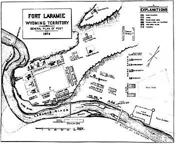 Plan of Fort Laramie