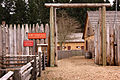 Fort Nisqually Living History Museum Entrance.jpg