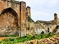 Fort wall at Chandrapur.jpg