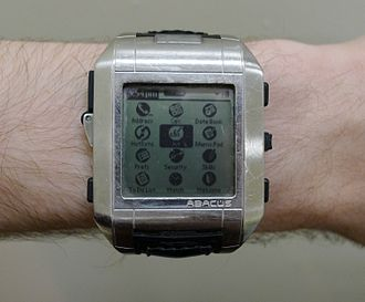 Fossil Group - The Fossil Wrist PDA released in 2003, which runs Palm OS