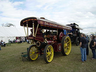 "William Foster & Co. - Foster showman's road locomotive ""Robin Hood"""