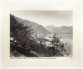 Fotografi av berg och sjö i Schweiz - Hallwylska museet - 103174.tif