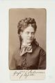 Fotografiporträtt på grevinnan Ebba Ankarcrona - Hallwylska museet - 107771.tif