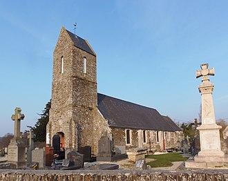 Cahagnolles - The church in Cahagnolles