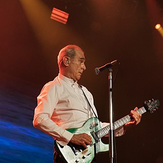 Francis Rossi - Performing with Status Quo in Raalte on 19 May 2018