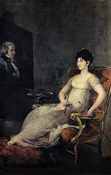 Francisco de Goya y Lucientes - Dona María Tomasa Palafox, Marquesa de Villafranca - WGA10048.jpg