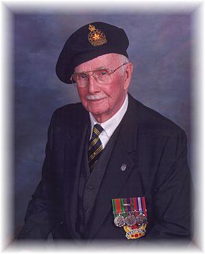 Frank Gross - Frank Gross, wearing service medals ca. 2005