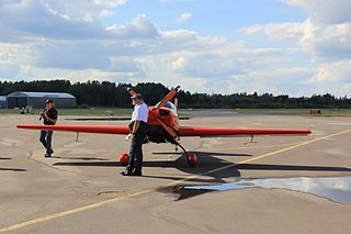 Frank Versteegh Dutch aerobatics pilot