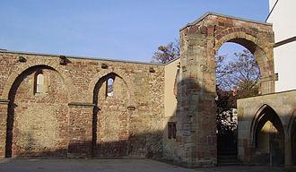 Frankenthal - Image: Frankenthal Klosterruine