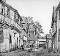 Frankfurt Am Main-Peter Becker-BAAF-019-Am Holzmagazin in der Rittergasse in Sachsenhausen-1872.jpg