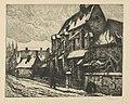 Frans Nackaerts - Brusselsche straat Kapel Gasthuis - Graphic work - Royal Library of Belgium - S.IV 13430.jpg