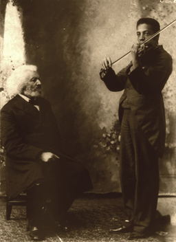 Frederick Douglass and grandson Joseph