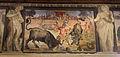 Fregio di Giasone e Medea 11 annibale o ludovico carracci, giasone doma i tori e semina i denti di drago, 1584 ca..JPG