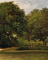 Friedrich Loos - Group of Trees in the Park.jpg