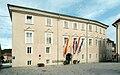 Friesach Fuerstenhofplatz 3 Fuerstenhof und Rathaus 17082008 51.jpg