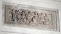 Fronte di urna volterrana con ulisse e circe, gruppo dell'astragalo II, 110-90 ac ca. 01.JPG