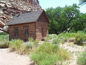 Capitol Reef National Park - Fruita School House