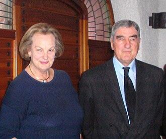 Alois-Konstantin, 9th Prince of Löwenstein-Wertheim-Rosenberg - Alois and his wife Princess Anastasia of Prussia, c. 2010