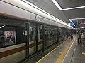 Futian Station Shenzhen Metro Line 2 platform and train 08-07-2019.jpg