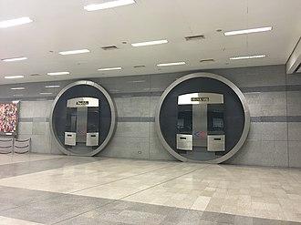 MRT Orange Line - Image: Future MRT Orange Line Platforms, TLCC Station