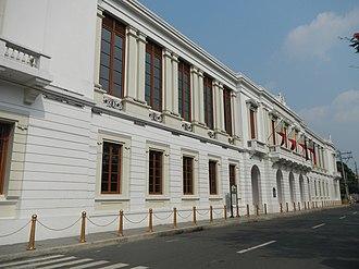 Ayuntamiento de Manila - Façade of the Ayuntameinto.