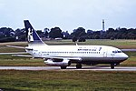 G-BADR B737-200 Britannia BHX 21-08-87 (42182700090).jpg