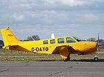G-DAYO Beech Bonanza Debonair 36 (Exeter Aviation) (46588845031).jpg