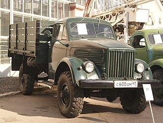 GAZ-63 - Image: GAZ 63 truck