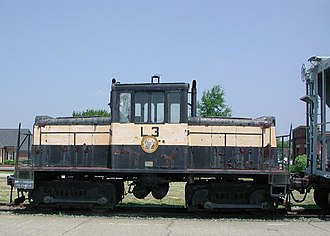 GE 45-ton switcher - Image: GE45Ton Spencer NC NCTM