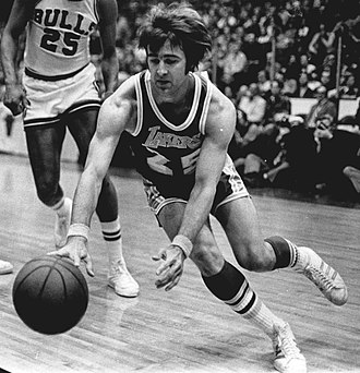 Gail Goodrich - Goodrich with the Los Angeles Lakers in 1973