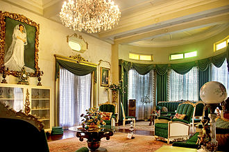 Gala–Rodriguez Ancestral House - The Gala–Rodriguez House, second receiving area at the 2nd floor