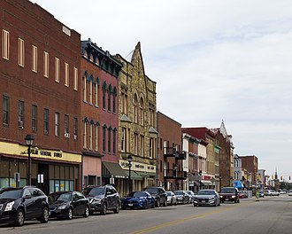 Gallipolis, Ohio - Downtown Gallipolis
