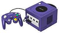 Indigo GameCube and controller