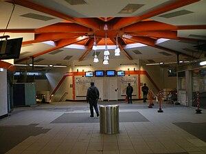 Val de Fontenay Station - Image: Gare Val De Fontenay Salle Echange En Travaux