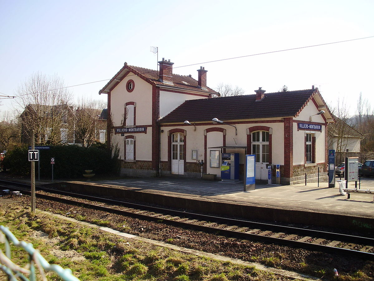 Gare de villiers montbarbin wikip dia for Garage de la gare bretigny
