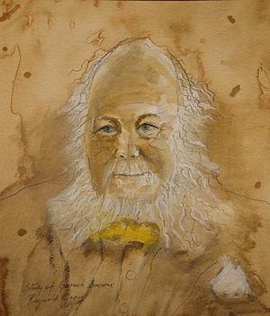 Garech Browne - Garech Browne by Irish artist Reginald Gray.