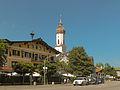 Garmisch, Sankt Martin Kirche in straatzicht 2012-08-15 15.24.jpg