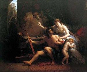 Julius Sabinus - Éponine and Sabinus (1810) by Etienne-Barthélémy Garnier