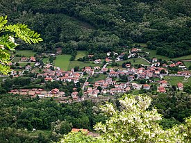 Vista do vilarejo de Garrabet